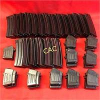 39pc Asst Size AR15 Mags
