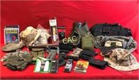 Box Lot of Asst Camo & Army Wear
