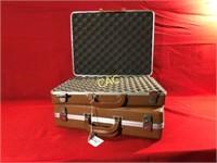 2pc Suitcase Style Handgun Cases