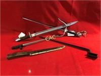 3pc Knives & 2pc Bayonette