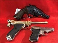 3pc Toy Pistols