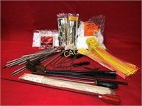 Box Lot of Gun Cleaning Tools