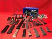 Box Full of Asst Pistol Mags