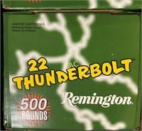 500rds Remington 22 Thunderbolt