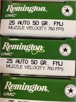 50rds Remington 25auto