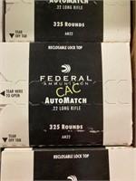 325rds Federal 22lr