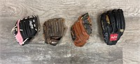 Family Baseball Gloves