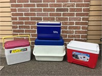 Assorted Coolers