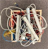 Assorted Surge Protectors/Cords