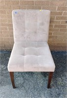 Contemporary uph. side chair