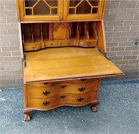 Maple Ethan Allen secretary