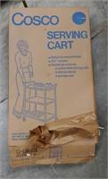 Vintage Cosco serving cart
