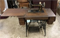 Singer treadel sewing machine