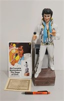 "Elvis ""McCormick Distilling Co."" boxed decantor"
