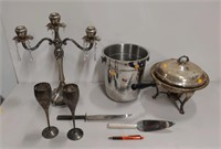 Lot of assorted silver plate