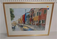 Margie Katzenberg W/C canal scene