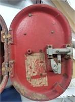 Pennsyvania Rail Road Gamewell fire alarm oval box