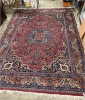 Hand woven room size rug