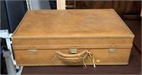 "Leather suit case ""Hartman Luggage"""