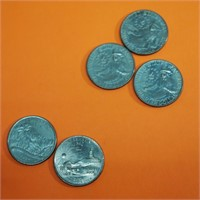 3 BiCentennial Quarters/2 Statehood