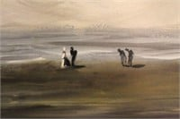 Oil Painting of Sea Scape