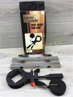 ADJUSTABLE BAND CLAMP/  WOOD CLAMP