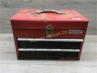 MASTER CRAFT RED TOOL BOX