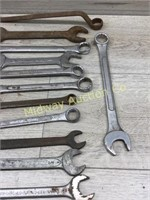 MIXED BAG OF VARIOUSE LARGE WRENCHES