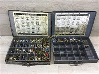 METAL ORGANIZERS WITH BRASS PNEUMATIC COUPLINGS