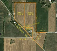 Country Home & 27.9 Acres Auction - Mon. Aug. 3 @ 6 P.M