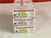 50rds Winchester 45auto 230gr JHP