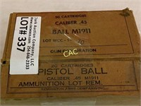 170rds Asst Brands 45 Ammunition