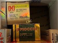 Box Lot of Asst Ammunition