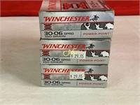 20rds Winchester Super X 30-06sprg 150gr