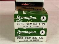 Approx 100rds Asst Brands 223 Ammunition