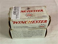 50rds Winchester 30carbine 110gr FMJ