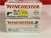 50rds Winchester 45auto