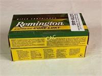 20rds Remington 30rem HR 125gr