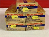 20rds Winchester 5.56mm 45gr Jacketed