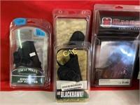 Box Lot of Asst New Handgun Holsters