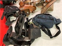 Box Lot of Sling Holsters