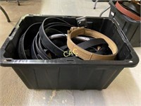 Box Lot of Gun Belts