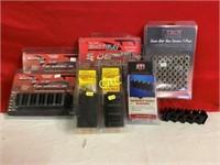 Box Lot of Asst. size Tactical Gloves