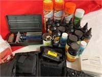 Box Lot of Asst. Cleaning Supplies