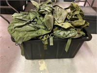 Box Lot of Combat Field Pack
