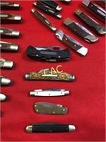 Box Lot of Asst Tactical Knives