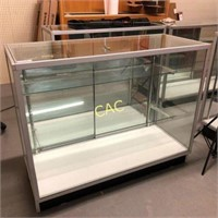 "4'x20""x38"" Glass Display Case"