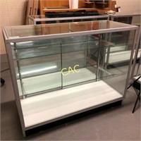 "4'x20""x38"" Glass Display Case"