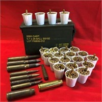 Approx 414rds 233rem & 7rds Large Caliber, 3pc