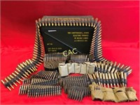 Ammo Can Full of Belts of Asst Ammo